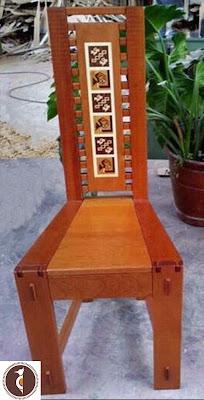 Sillas en madera cedro en Lima