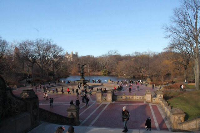 Fontaine de Central Park Agathe Diary