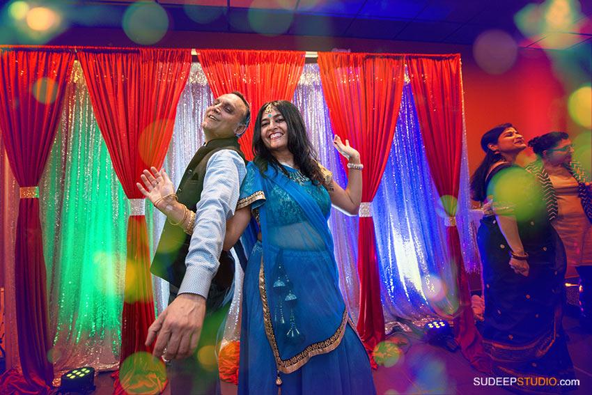 Indian Wedding Anniversary Party Crazy Dancing  - SudeepStudio.com ann Arbor Wedding Photographer