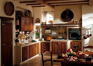 Diseño de cocina country