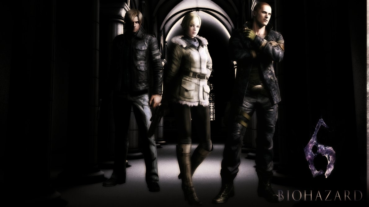 Central Wallpaper Resident Evil 6 Wallpapers Hd