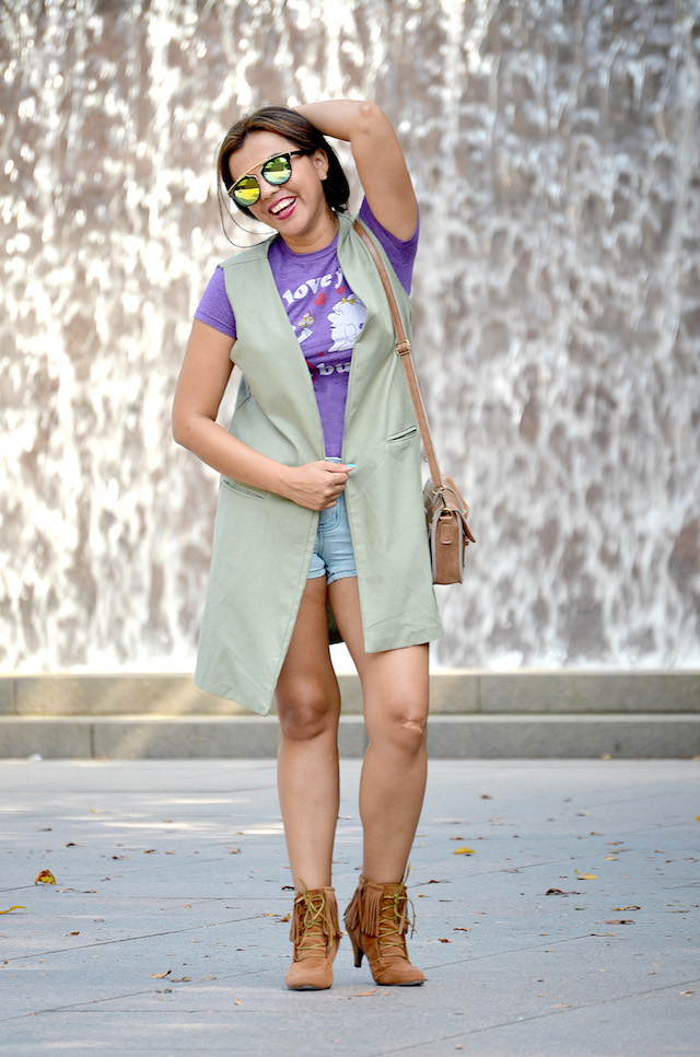 Military Vest-MariEstilo-Look of the day-Fashion blogger- DCBlogger