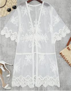 Kimono de tulle, Zaful
