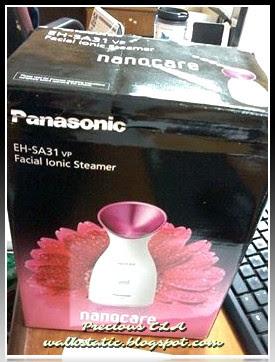 Menang Facial Ionic Steamer Bernilai RM576 Dari Panasonic Malaysia !