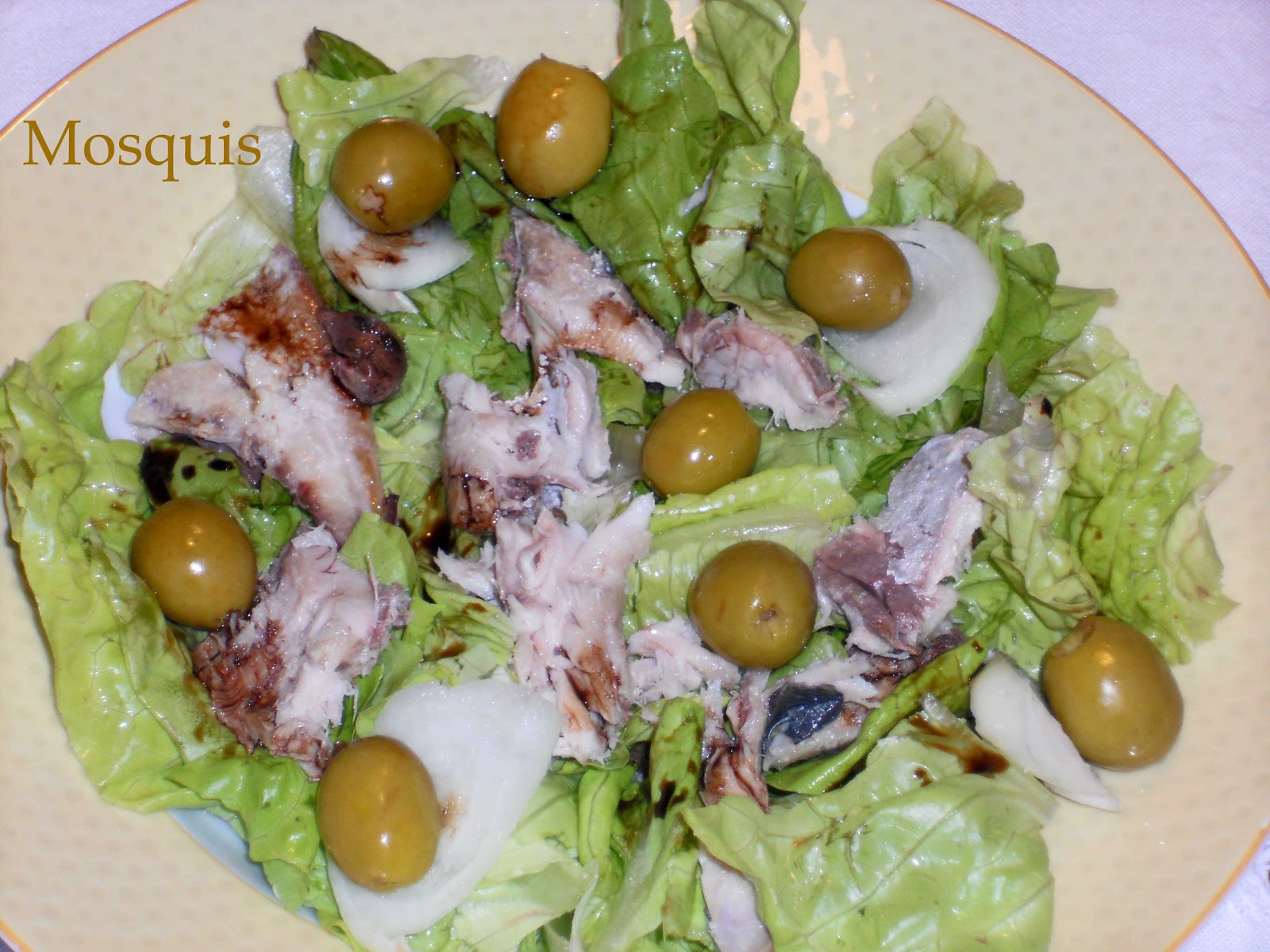 Laurel y canela variedades maheso y ensalada de jurel for Cocinar jurel