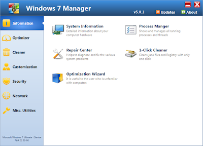 Download Windows 7 Manager