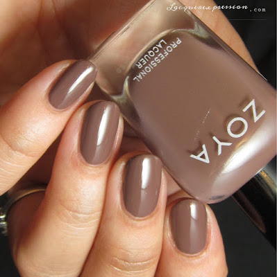 Nail polish swatch of Mary from the Naturel 3 collection by Zoya