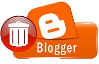 blogger blog ko delete aur undelete kaise kare