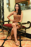 Actress Nikhita in Spicy Small Sleeveless Dress ~  Exclusive 023.JPG
