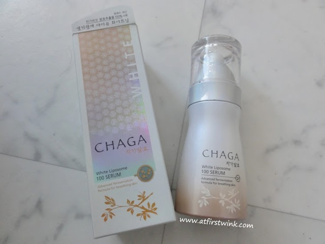 the Saem chaga white liposome 100 serum