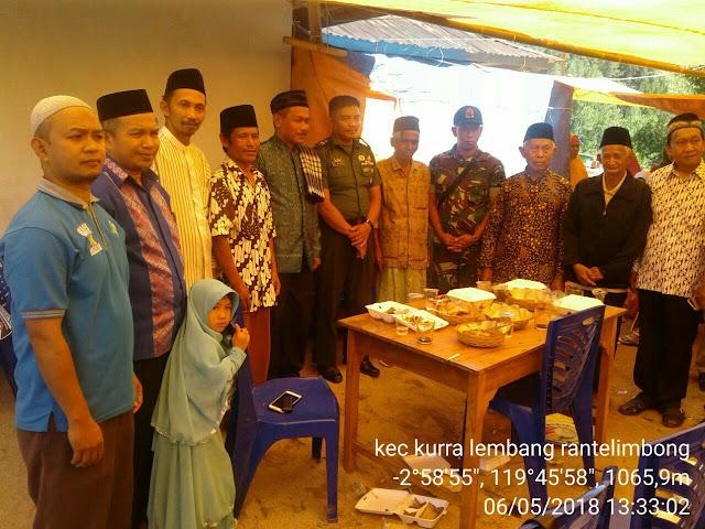Menyambut Bulan Suci Ramadhan, Kodim 1414 Tana Toraja Renovasi Mesjid di Kurra