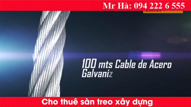 Dịch vụ cho thuê sàn treo gondola ở Hà Nội