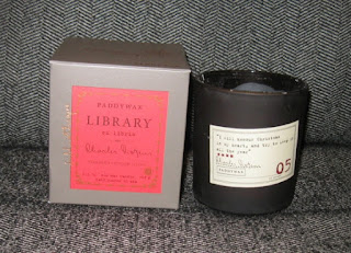 Love this book themed candle!