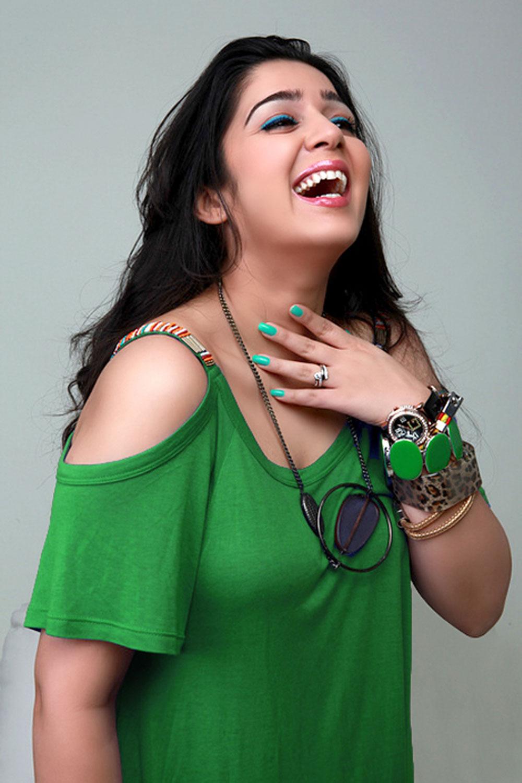 cute and hot Charmi latest hot pics from prema oka maikam movie