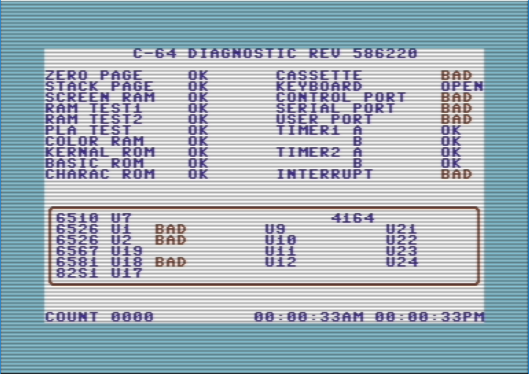 Tynemouth Software: VIC20 Dead Test+