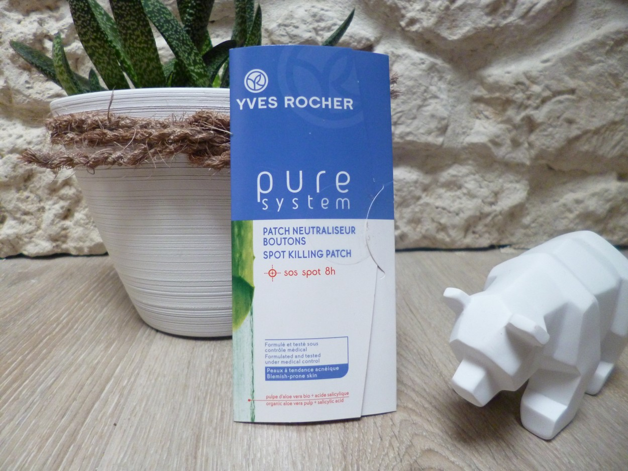 Patch neutraliseur bouton yves rocher
