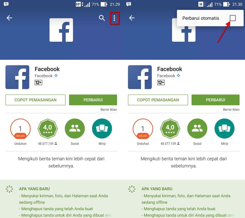 Cara Menonaktifkan Auto Update Aplikasi di Android - Info ...