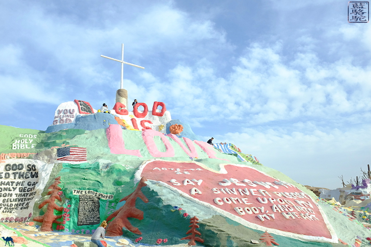 Le Chameau Bleu - Balade à Salvation Mountain en Californie du Sud