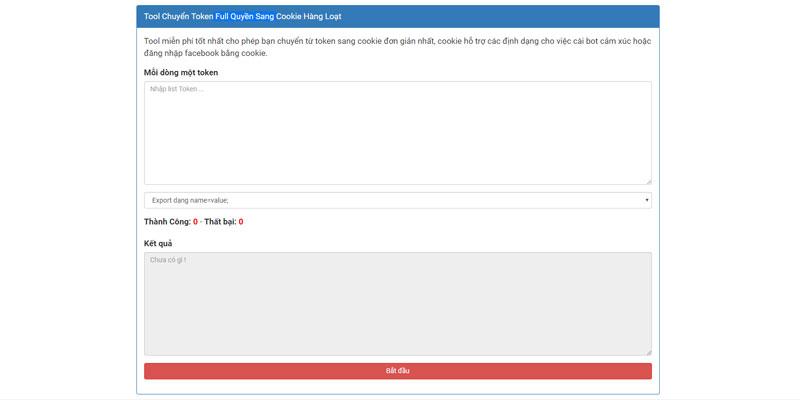 Share source code tool chuyển token full quyền sang cookie hàng loạt cho blogspot và website