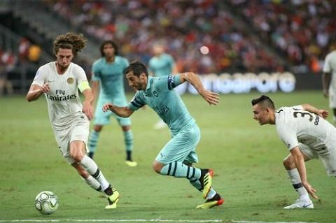 Arsenal đại thắng PSG ở IC Cup 2018
