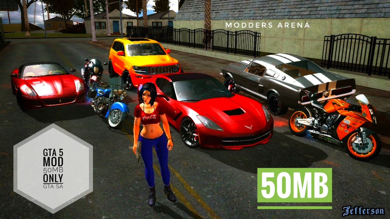 Gta vc 4k graphics mod android | GTA SA ANDROID : ULTRA [4K