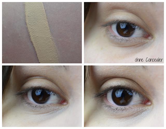essence - get picture ready! - Brightening Concealer Nuance 010 Ivory | Swatch und Tragebilder