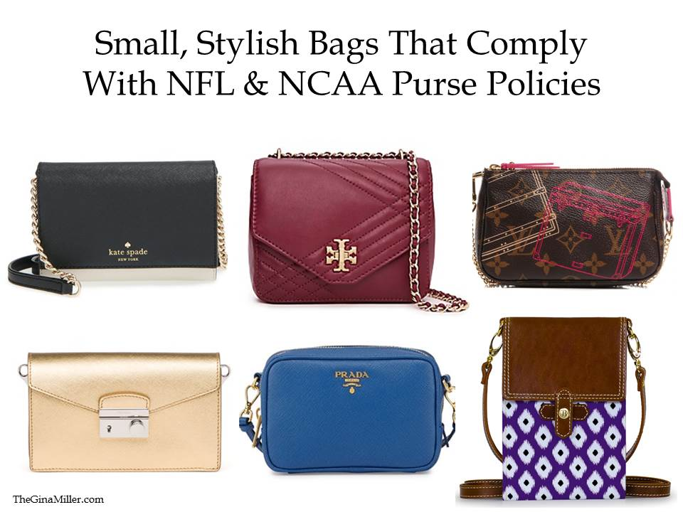 25 Nfl Ncaa Purse Policy Roved Bags