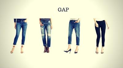 Calças Jeans Femininas da GAP