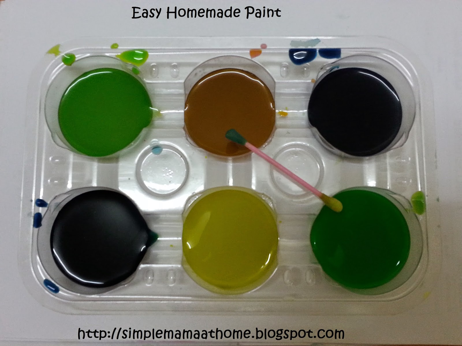 Easy Homemade Paint