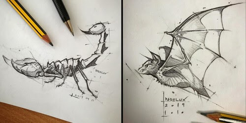 00-Psdelux-Animal-Drawings-www-designstack-co