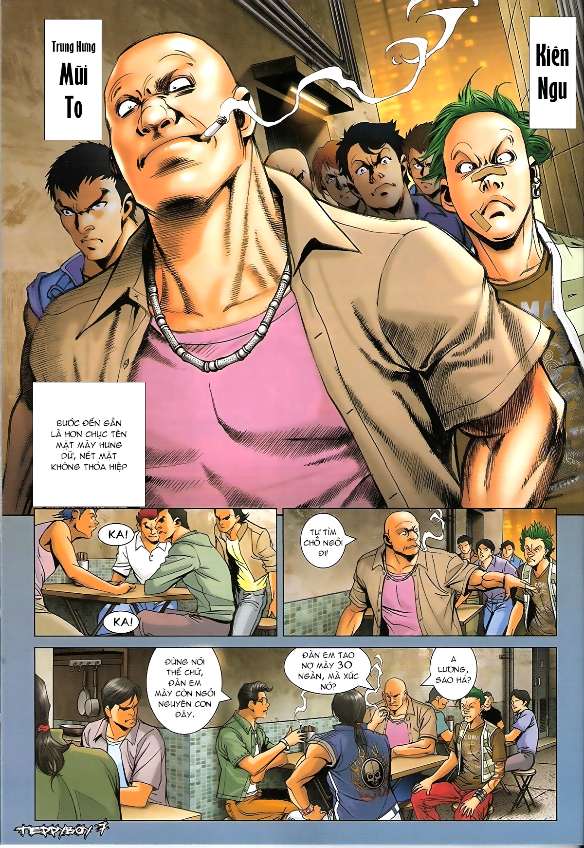 Người Trong Giang Hồ - Chapter 1320: Con trai Y Kiện - Pic 5