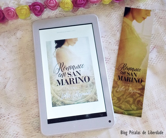 "Resenha: livro ""Romance em San Marino: Livro I"", Lídia Rayanne"