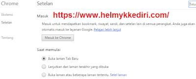 Cara mengganti bahasa browser google chrome