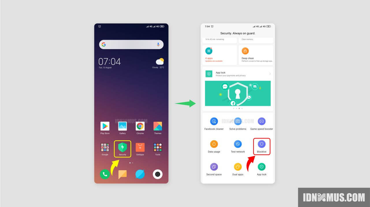 Cara Blokir SMS Penipuan di Xiaomi