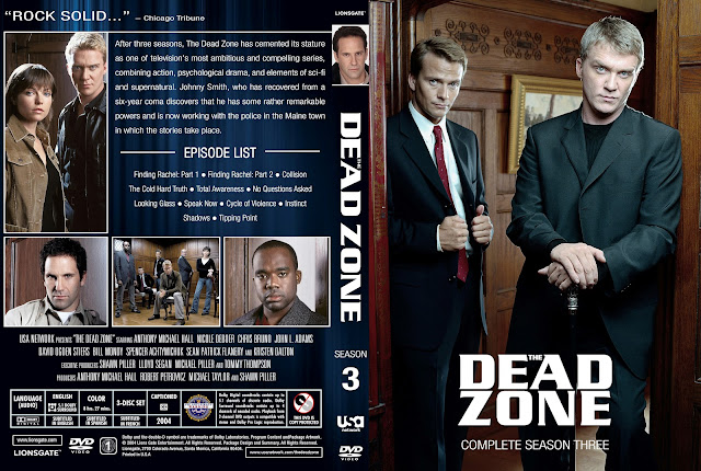 Dead Zone Season 3 DVD Cover