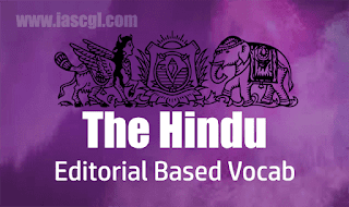 The Hindu Vocab 23 August 2018