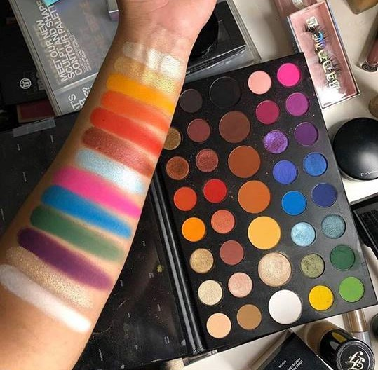 James Charles X Morphe Artistry Eyeshadow Palette And Eye Brush Set