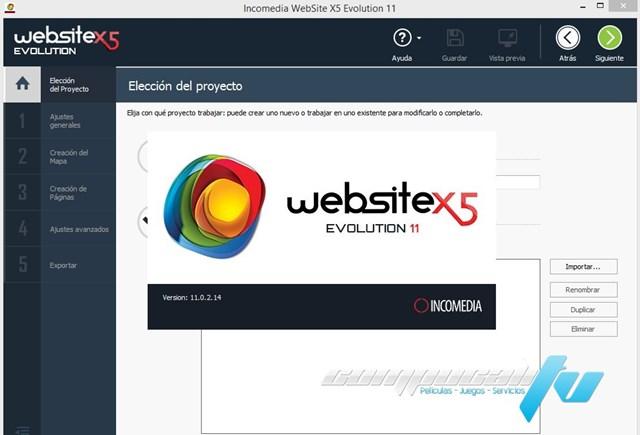 WebSite X5 Evolution Version 11.0.2 Español Final