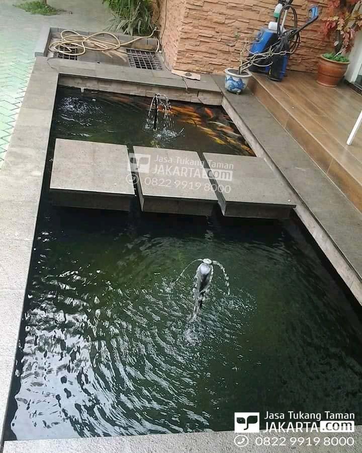 kolam ikan koi murah,jasa pembuatan kolam koi bergaransi