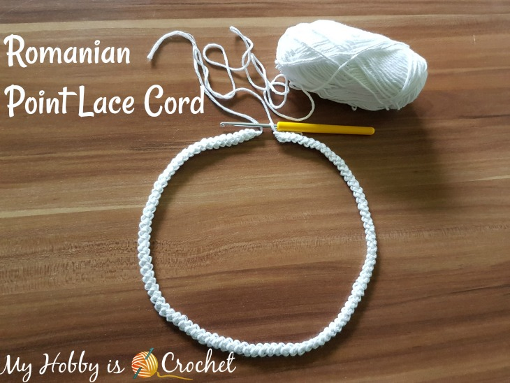 Romanian Point Lace Crochet Cord