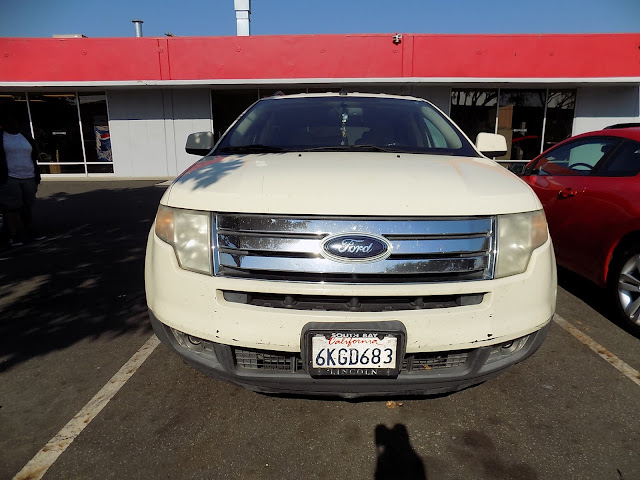 2008 Ford Edge before color change at Almost Everything Auto Body.