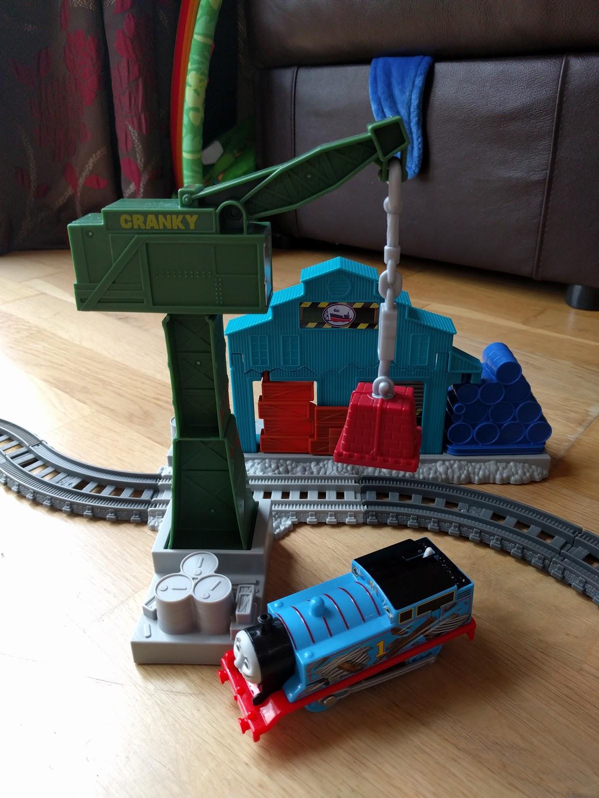 Entertaining Elliot Thomas Friends Trackmaster Demolition At The