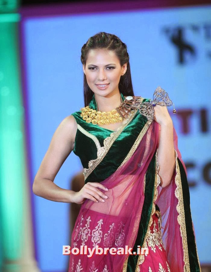 Rochelle Maria Rao, Aditi Rao, Shazahn, Rochelle at Retail Jeweller Indian Trendsetter 2014 Show