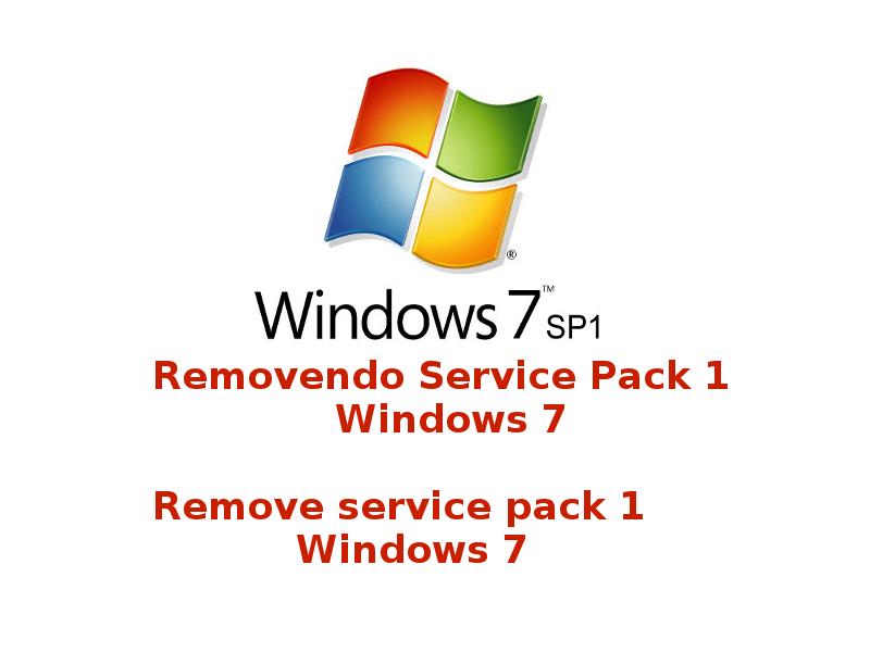 Removendo service pack sp1 windows 7 kb976932 fmaciel3 for Window 7 service pack 1