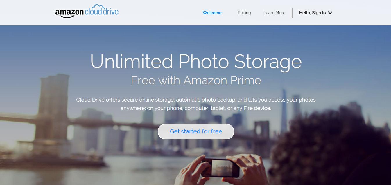 amazon يطلق موقع للتخزين السحابى الغير محدود