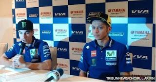 Yamaha Perkenalkan Vinales dan Rossi di Jakarta