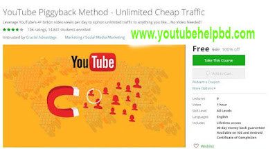 UDEMY - YouTube Piggyback Method - Unlimited Cheap Traffic#YouTube PiggyBack Method Companion Guide#100.free.udemy.tutorial.youtube.piggyback.method.unlimited.cheap.traffic