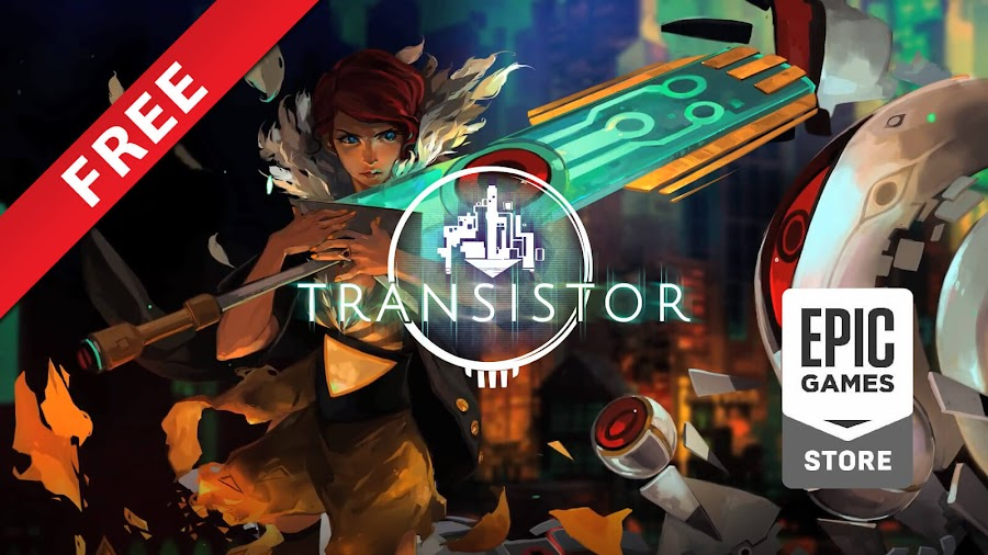 transistor free pc epic games store supergiant games