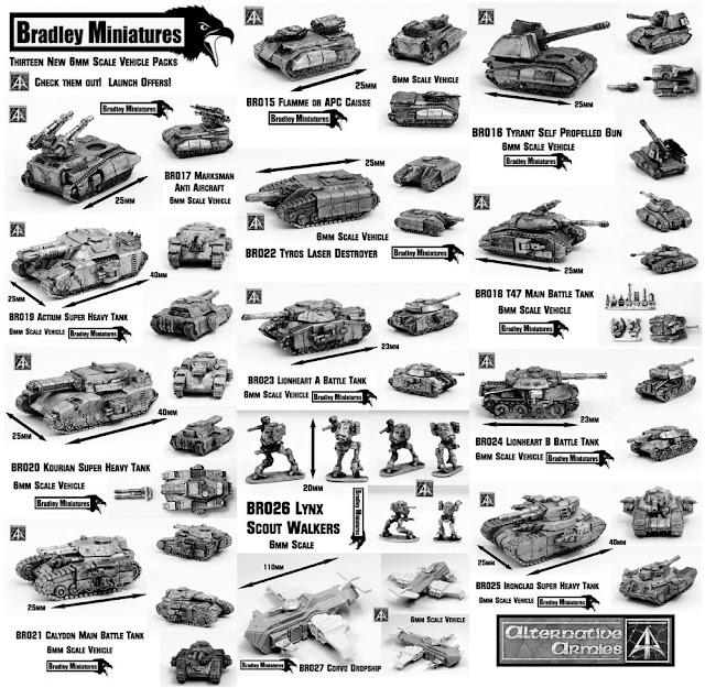 Wargame News and Terrain: Alternative Armies: Bradley