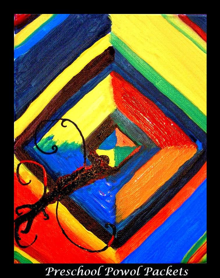 Kandinsky-Inspired Diamond Painting Color Studies with ...